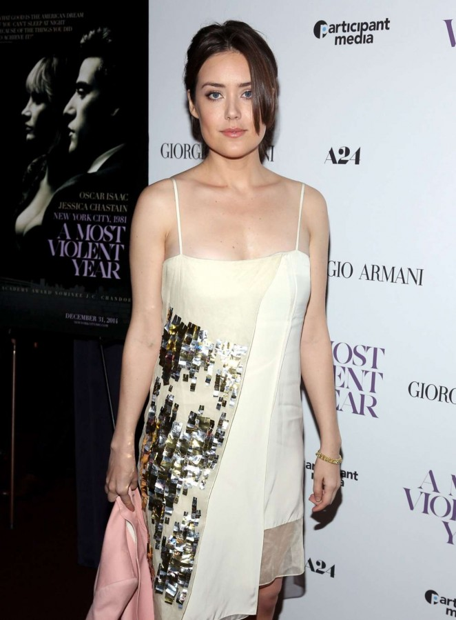 "Megan Boone - ""A Most Violent Year"" Premiere in New York"