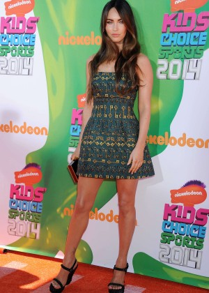 Megan Fox: 2014 Nickelodeon Kids Choice Sports Awards -04