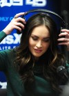 Megan Fox legs at SiriusXM Radio-01