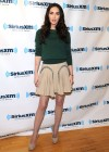 Megan Fox legs at SiriusXM Radio-06