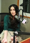 Megan Fox legs at SiriusXM Radio-12