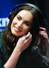 Megan Fox legs at SiriusXM Radio-13