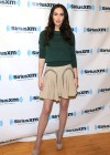 Megan Fox legs at SiriusXM Radio-15