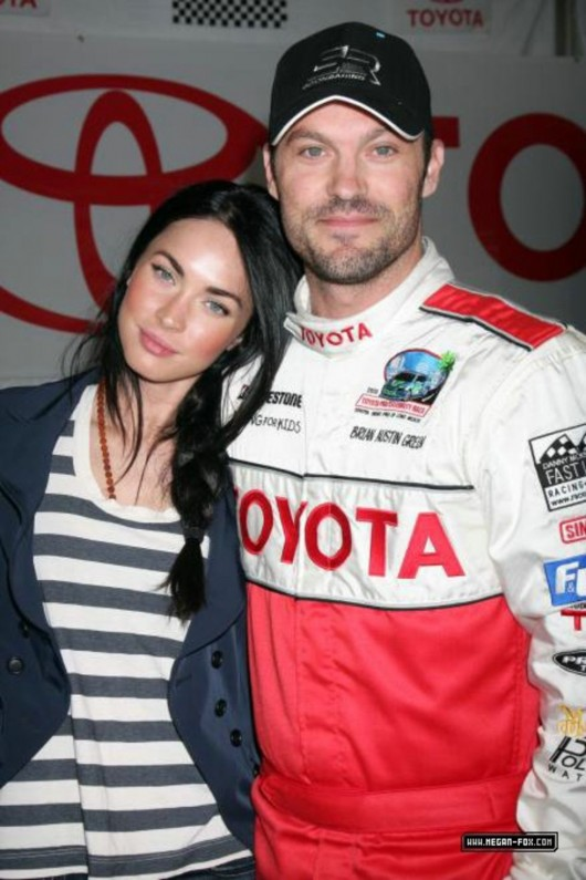 Megan Fox at Toyota Grand Prix Race 2010