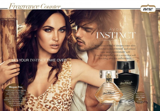 Megan Fox – Avon Instinct fragrance Campaign 2013 -02