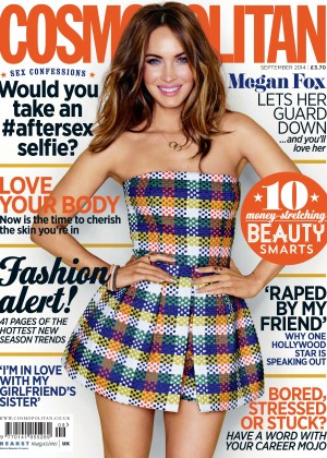 Megan Fox in Cosmopolitan (UK) Cover for September 2014 issue
