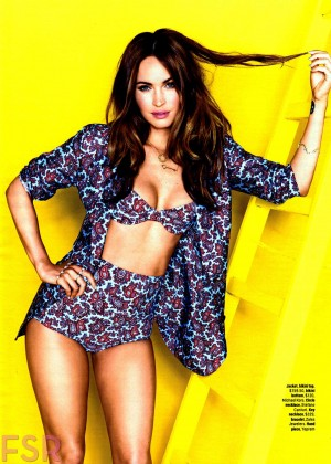 Megan Fox - Cosmopolitan USA Magazine (August 2014)