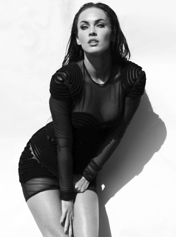 Megan Fox Elle magazine outtakes -12