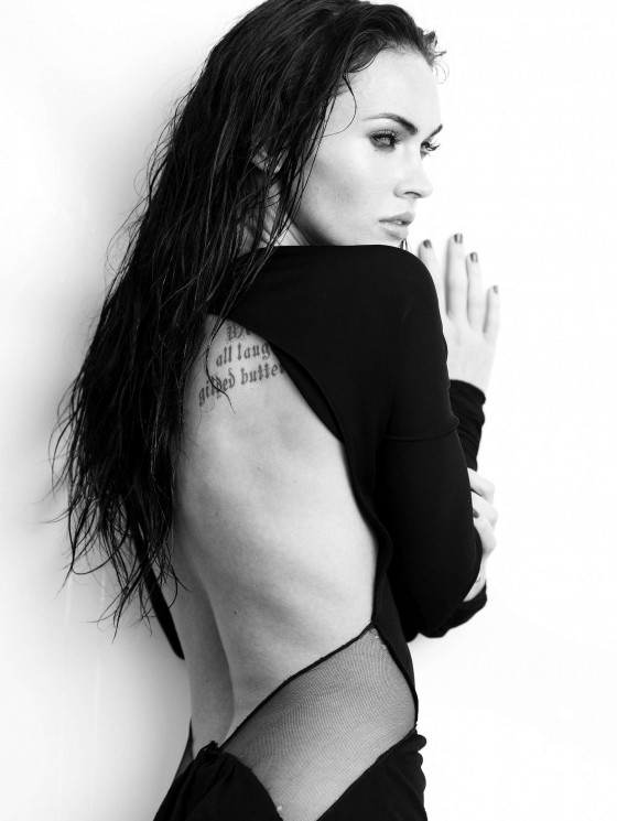 Megan Fox Elle magazine outtakes -16