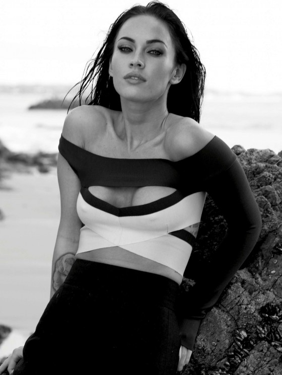 Megan Fox Elle magazine outtakes -19