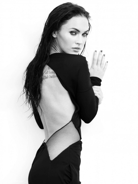 Megan Fox Elle magazine outtakes -23