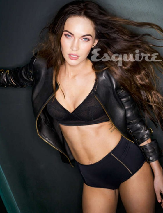 Megan Fox for Esquire magazine February 2013 issue LQ pic of the mag