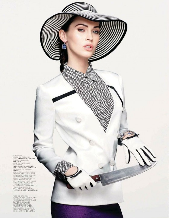 Megan Fox in Jalouse 2012-07