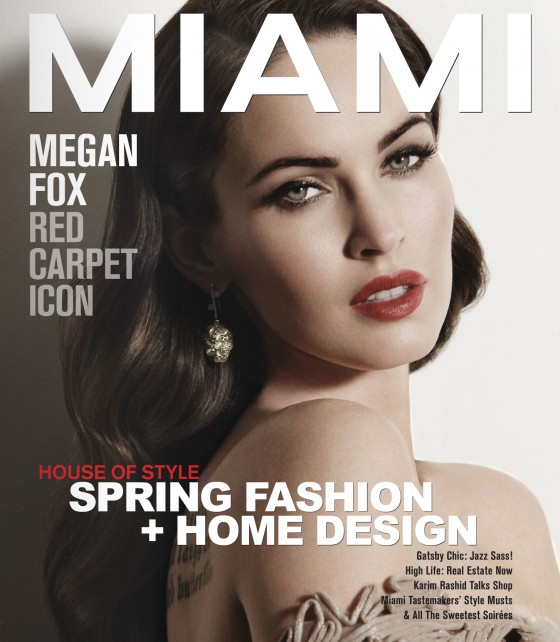 Megan Fox – MIAMI Magazine 2012-06