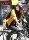Megan Fox - on the set of TMNT in Manhattan -45