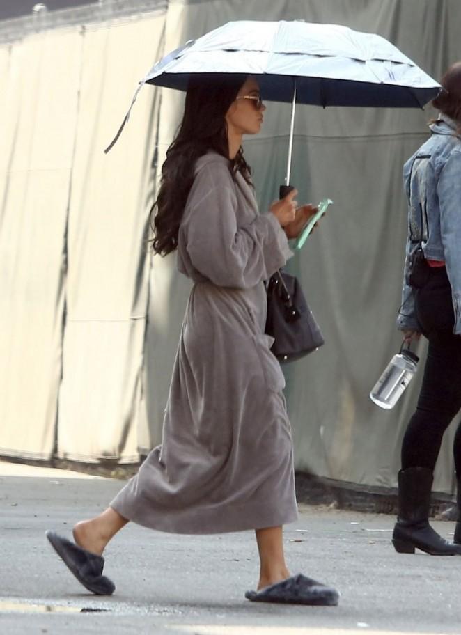 "Megan Fox on the set of ""Zeroville"" in LA"