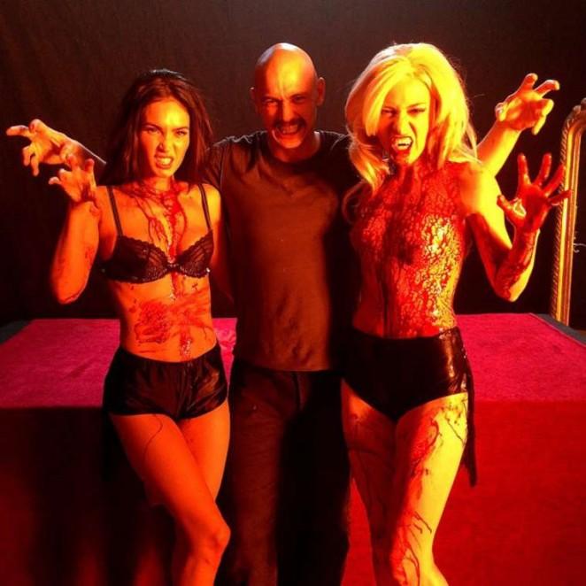 Megan Fox on the set of Zeroville - Instagram
