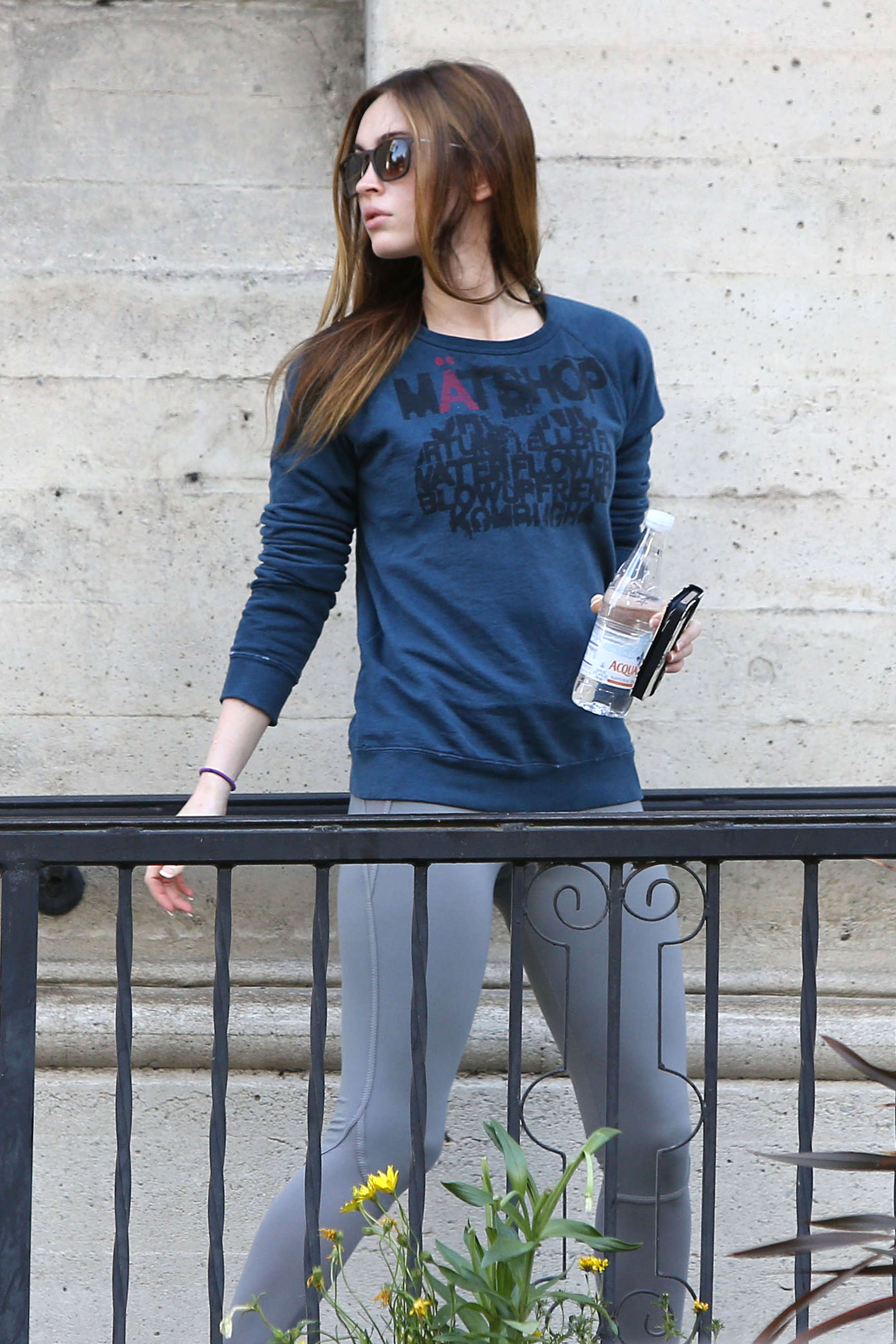 megan fox out in la gotceleb