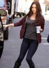 Megan Fox out in NY -03