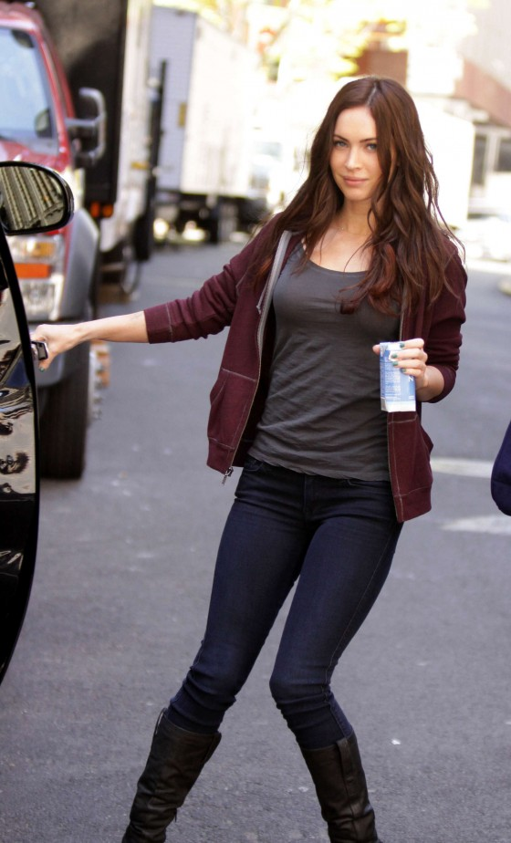 Megan Fox out in NY -03