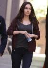 Megan Fox out in NY -05