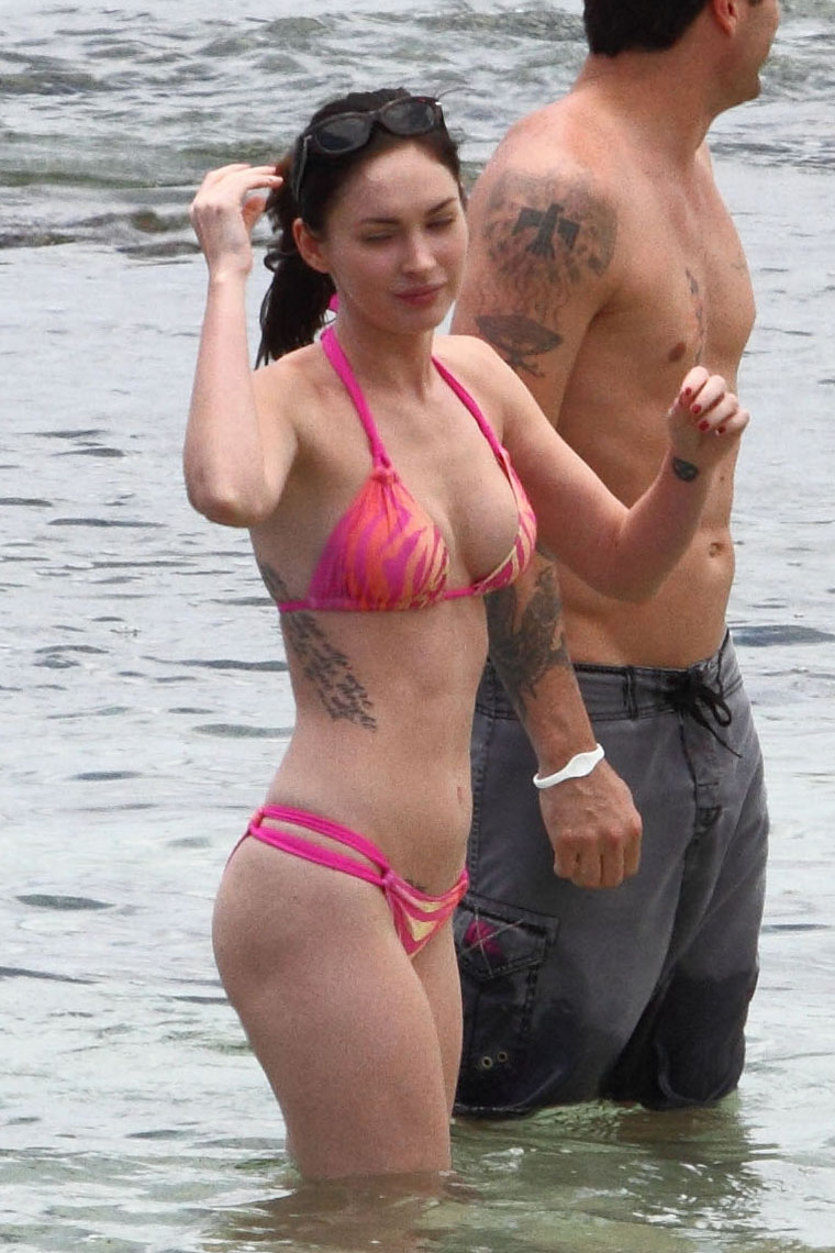 megan fox out of water nude