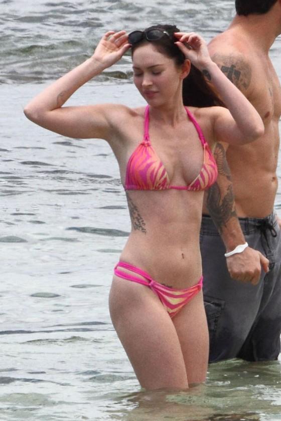 Are megan fox pink bikini necessary