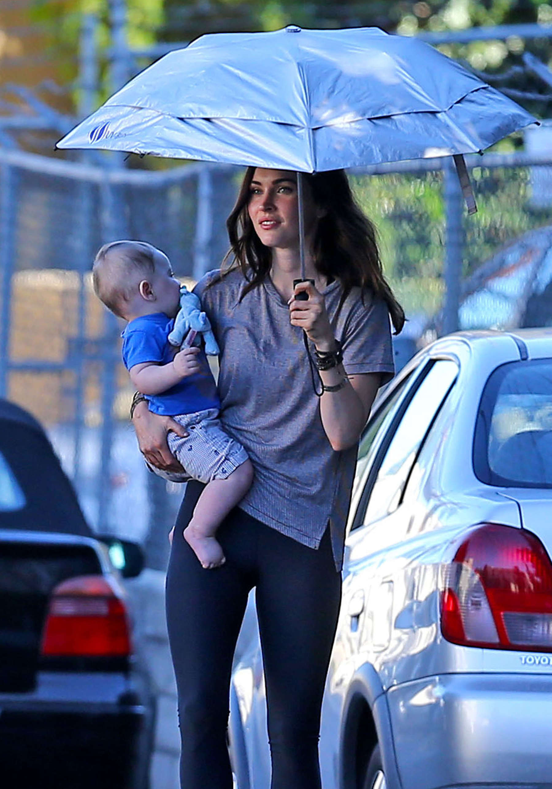 Megan Fox Spotted at The Coop in Studio City