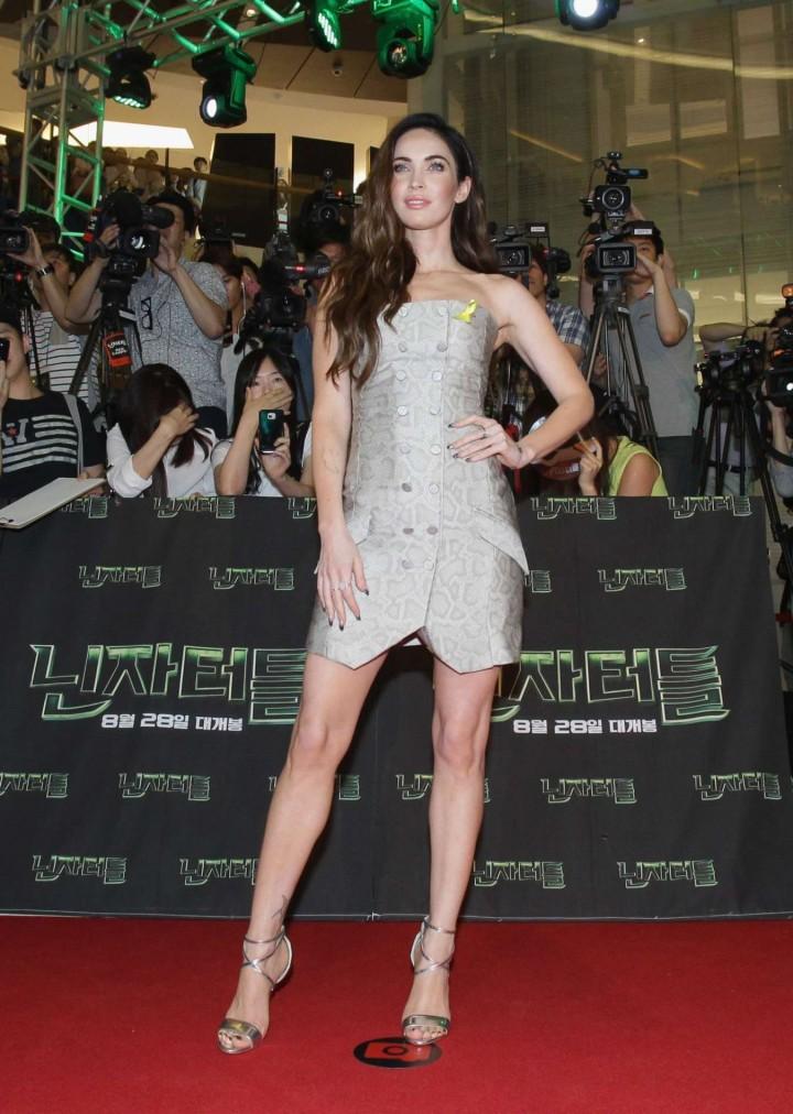 "Megan Fox - ""Teenage Mutant Ninja Turtles"" Premiere in Seoul"