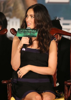 "Megan Fox - ""Teenage Mutant Ninja Turtles"" Press Conference in Beijing"