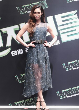 "Megan Fox - ""Teenage Mutant Ninja Turtles"" Press Conference in Seoul"