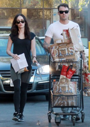 Megan Fox and Brian Austin Green Out for Shopping in Los Angeles