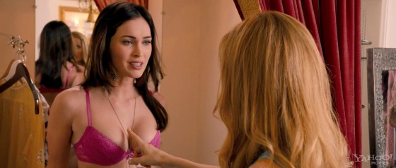 "Megan Fox in bra from ""This is 40"" trailer caps"