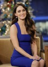 Megan Fox - Tonight Show with Jay Leno in Burbank (Dec 2012)