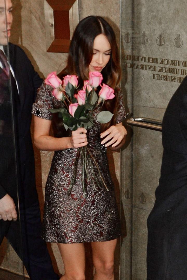 Megan Fox in Short Dress -01
