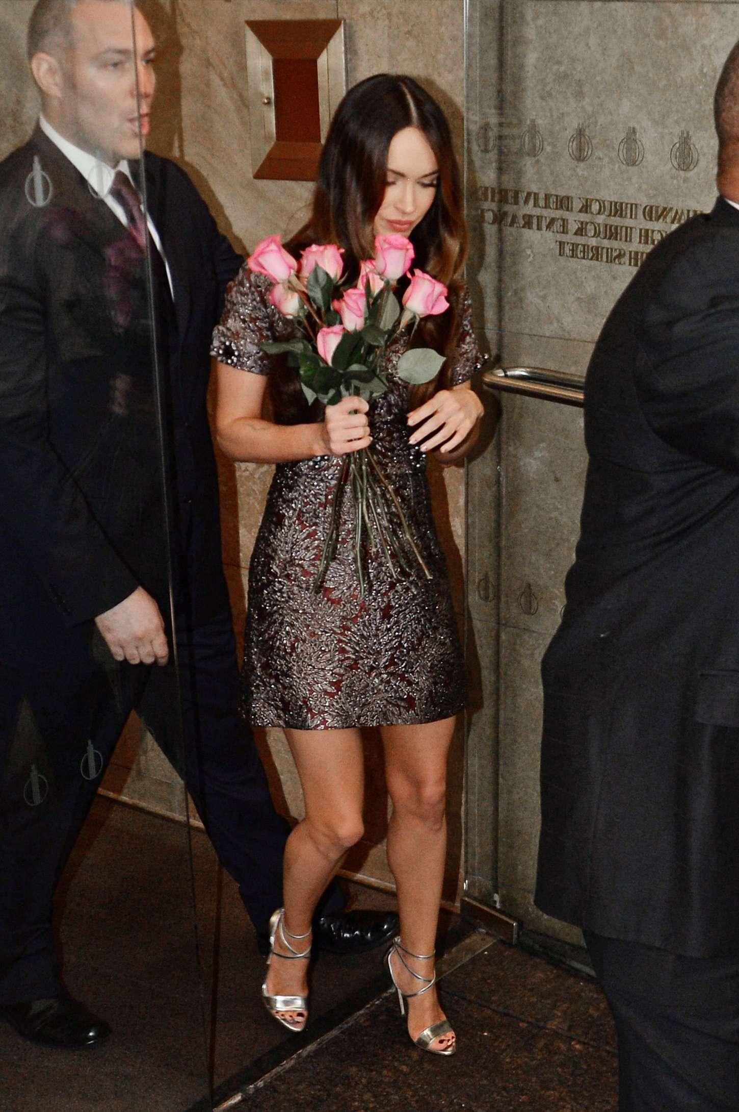 Megan Fox 2014 : Megan Fox in Short Dress -03