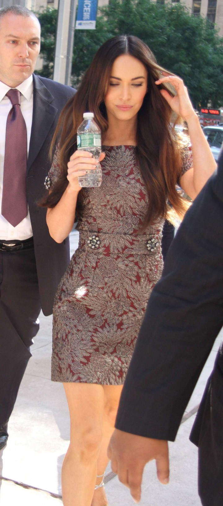 Megan Fox in Short Dress -08
