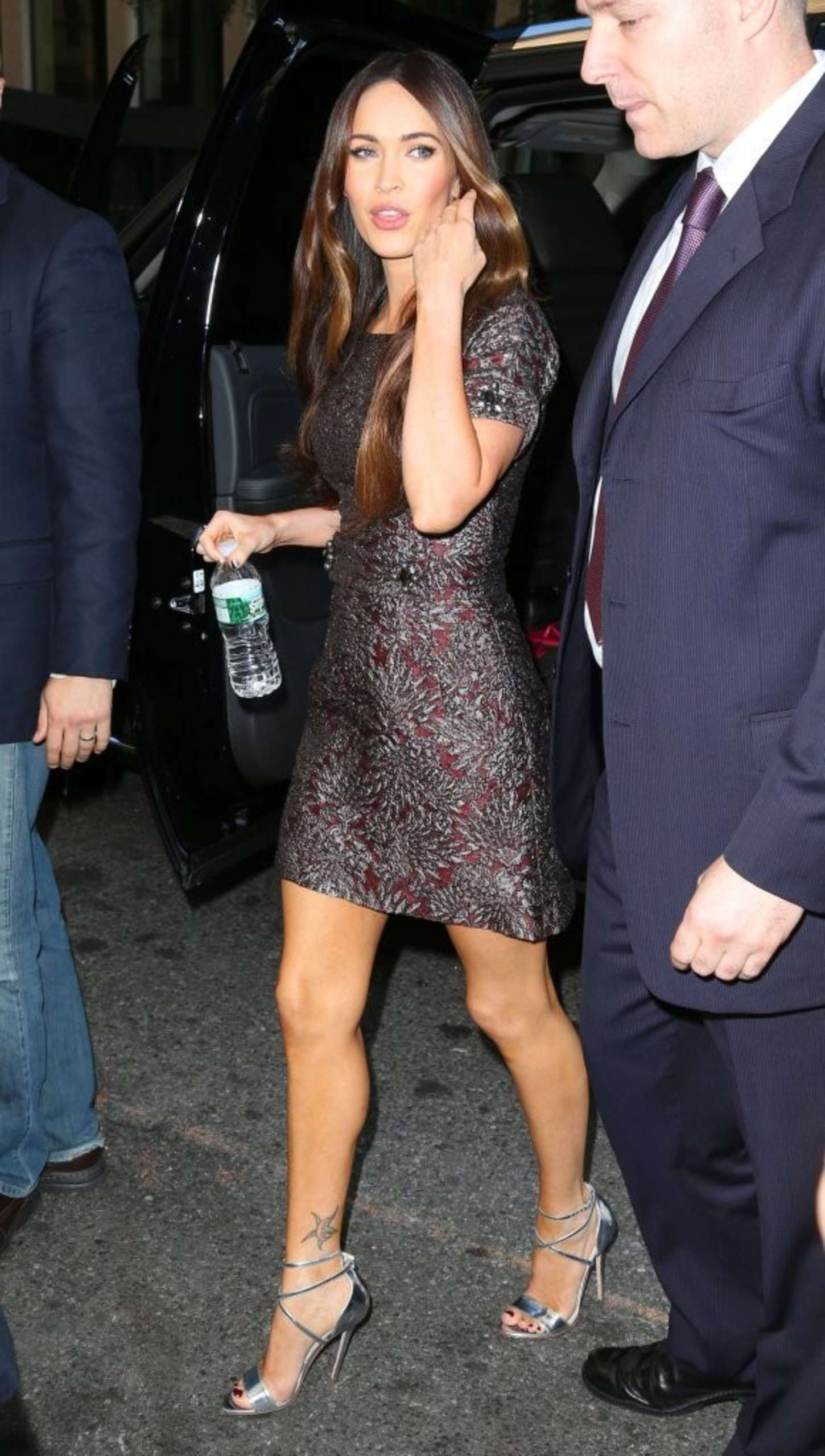 Megan Fox 2014 : Megan Fox in Short Dress -11
