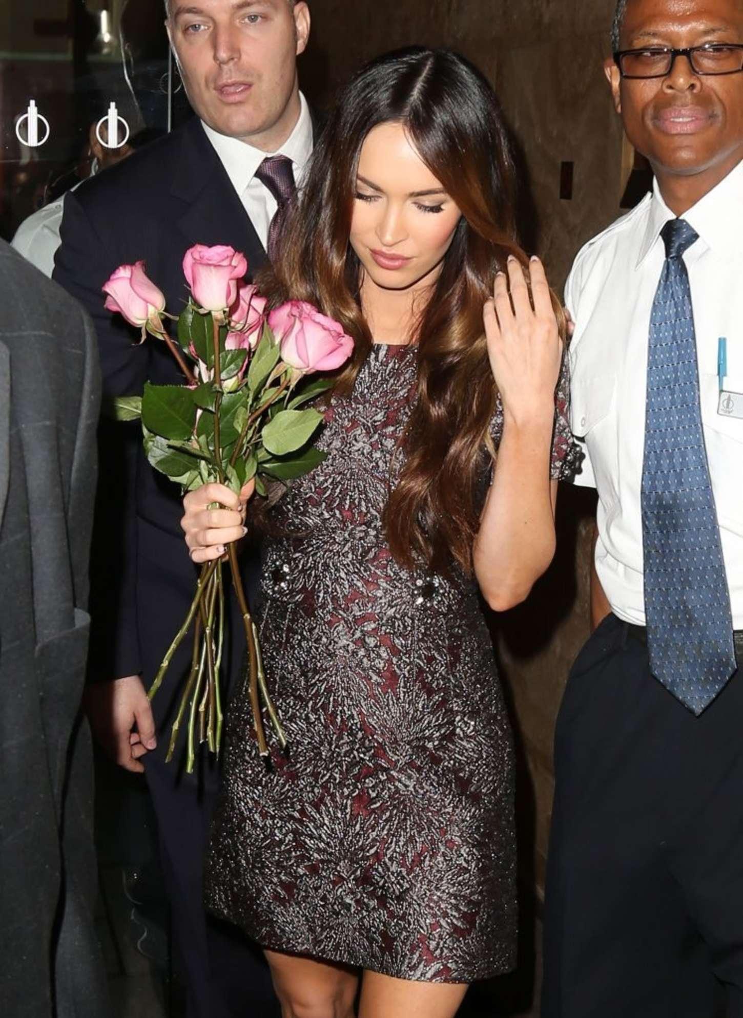 Megan Fox 2014 : Megan Fox in Short Dress -17