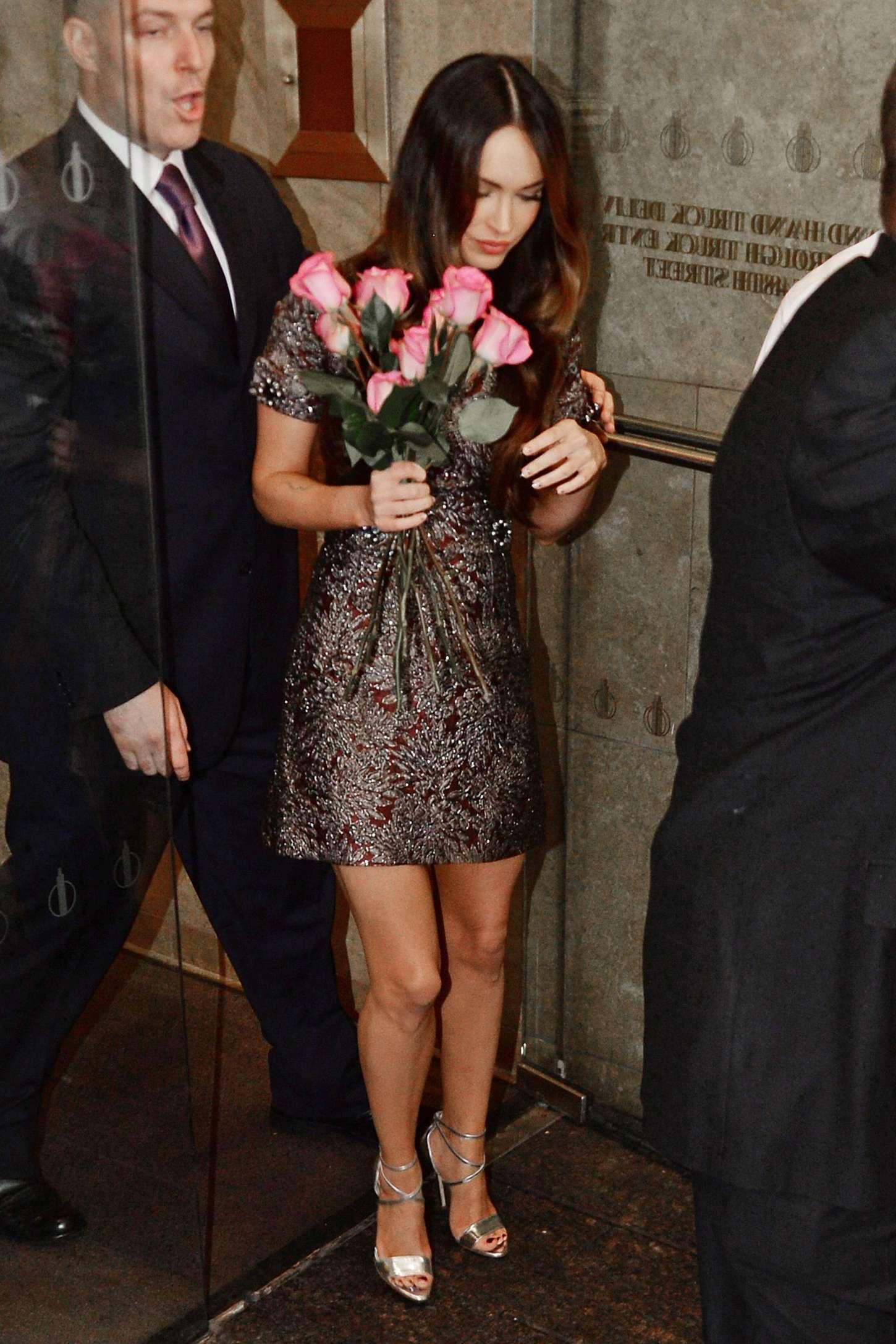 Megan Fox 2014 : Megan Fox in Short Dress -26