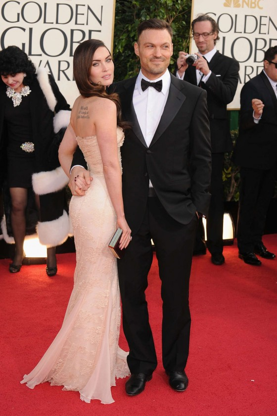 Megan Fox – Wearing Dolce & Gabbana at 2013 Golden Globe Awards