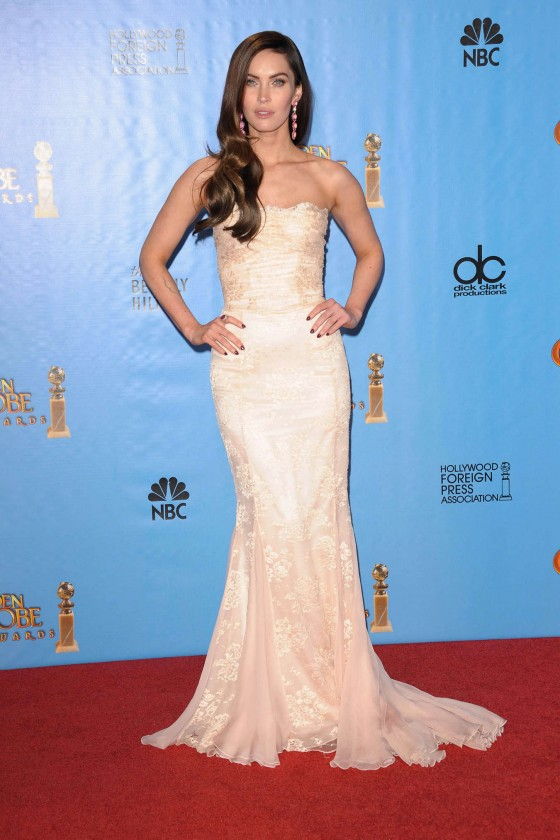 Megan Fox at 2013 Golden Globe Awards-09