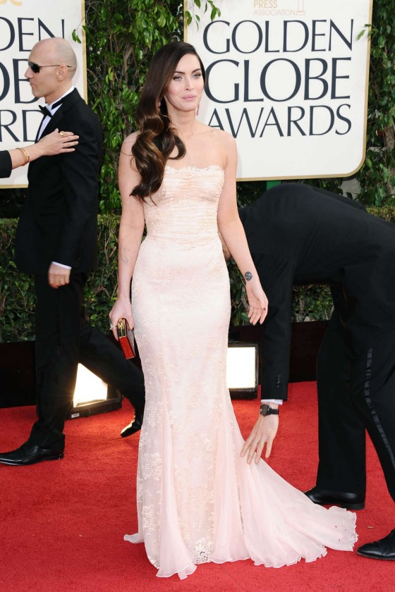 Megan Fox at 2013 Golden Globe Awards-12