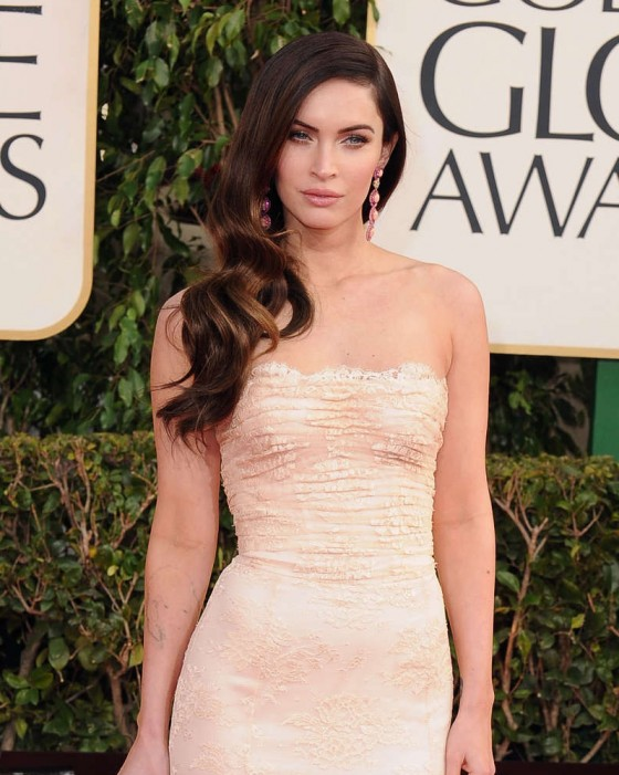 Megan Fox - Wearing Dolce & Gabbana at 2013 Golden Globe Awards