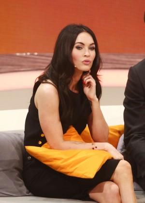 """Megan Fox - """"Wetten, dass..?"""" TV show in Erfurt, Germany"""
