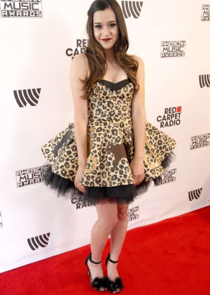 Megan Nicole - 2014 American Music Awards Radio Row in LA