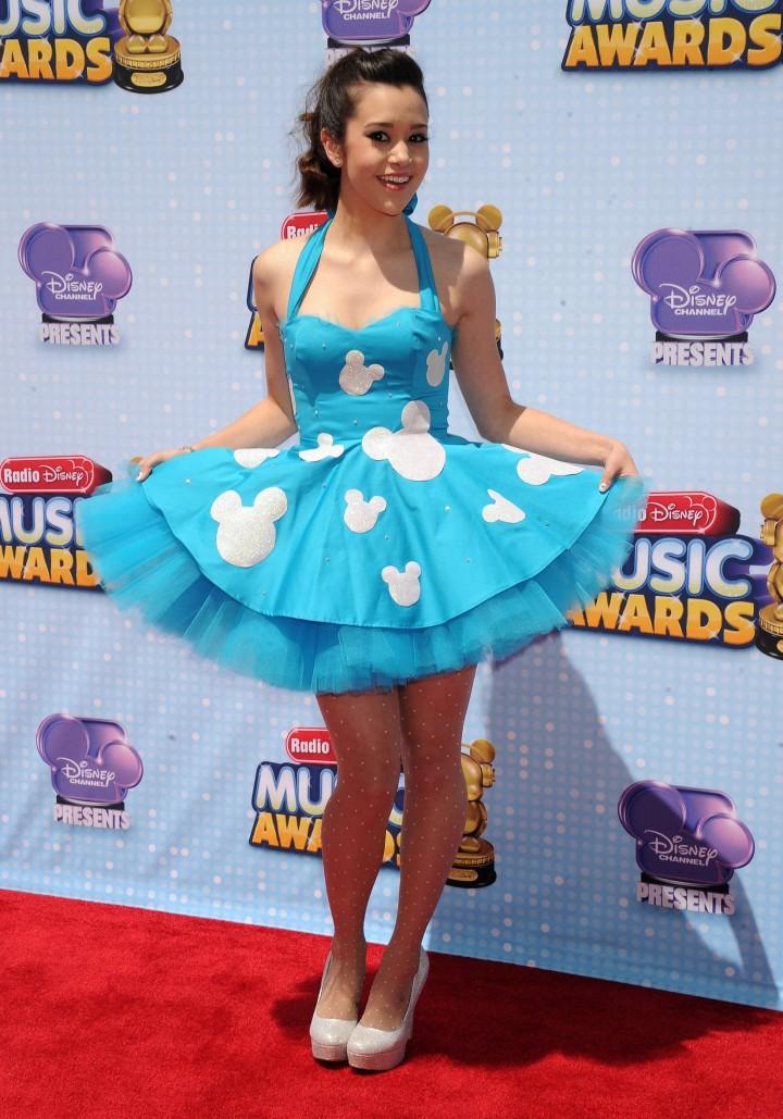 Megan Nicole Hot at 2014 Radio Disney Music Awards in LA -01