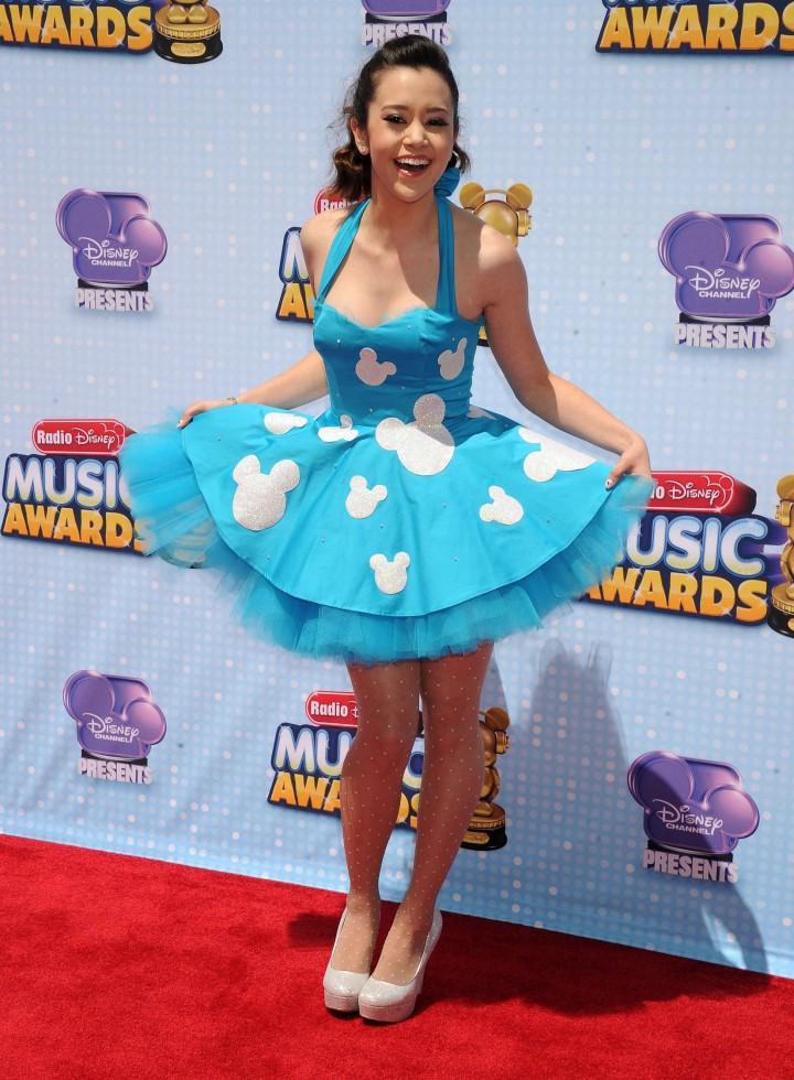 Megan Nicole Hot at 2014 Radio Disney Music Awards in LA -02