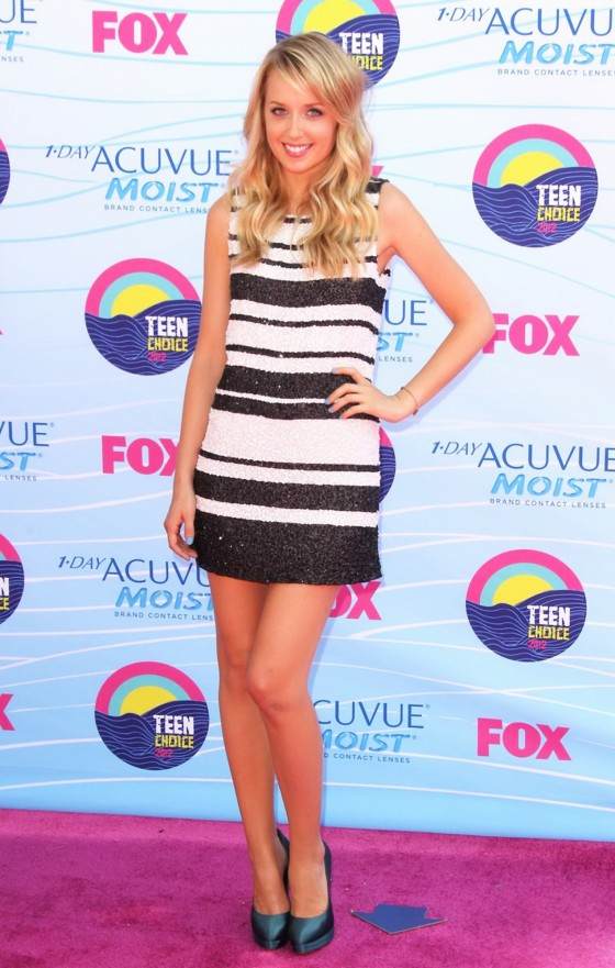 Megan Park - 2012 Teen Choice Awards