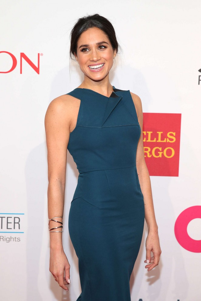 Meghan Markle - Elton John AIDS Foundation 13th Annual An Enduring Vision Benefit at in NY